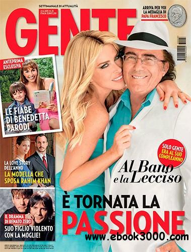 Gente 4 Giugno 2013 (Italy) free download