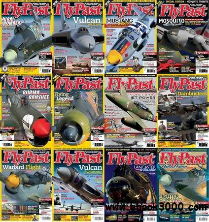 Flypast Magazine 2012-2013 Full Collection free download