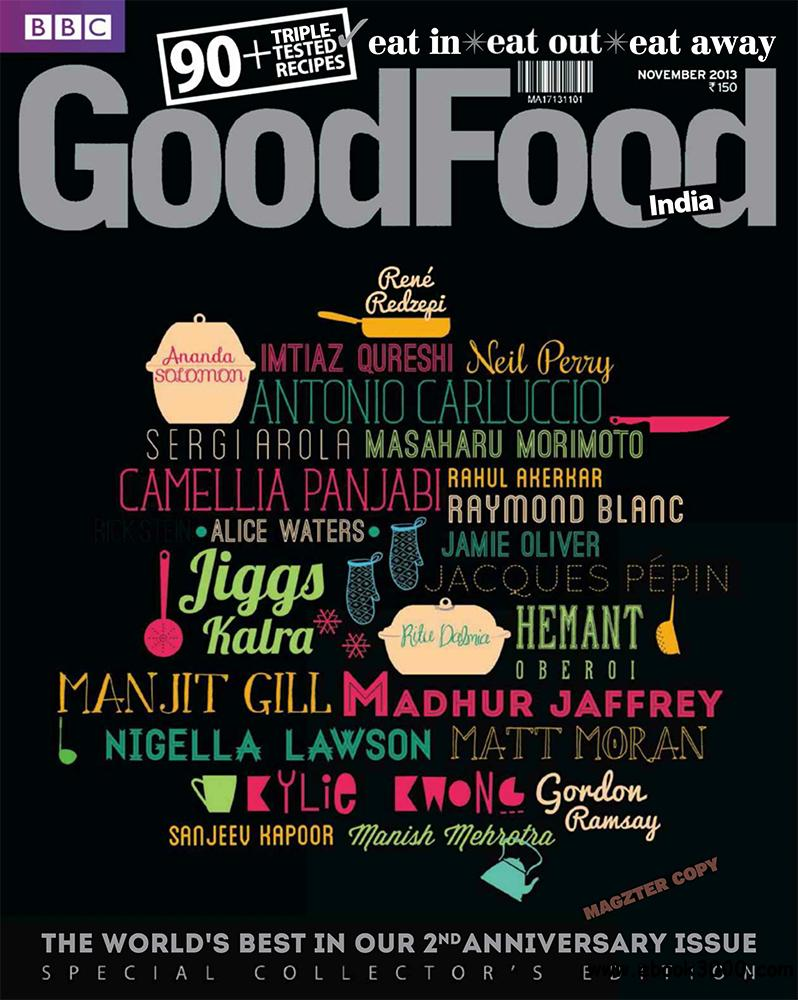 BBC GoodFood November 2013 (India) free download