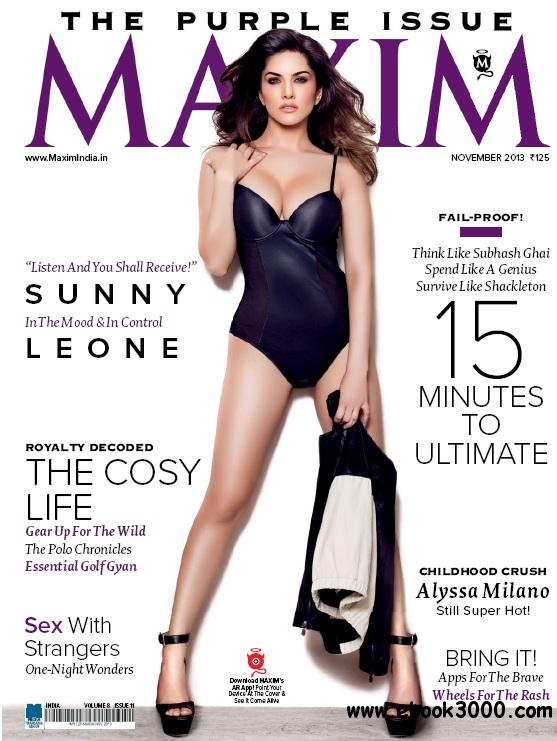 Maxim India - November 2013 free download