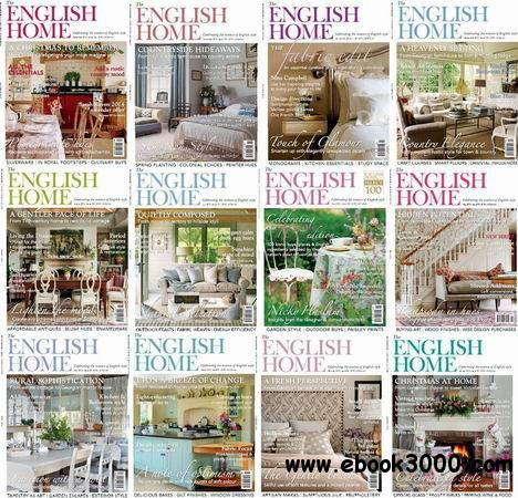 The English Home Magazine 2013 Full Collection free download