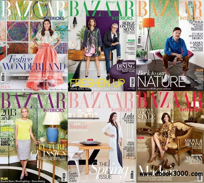 Harper's Bazaar Interiors Magazine 2013 Full Collection free download