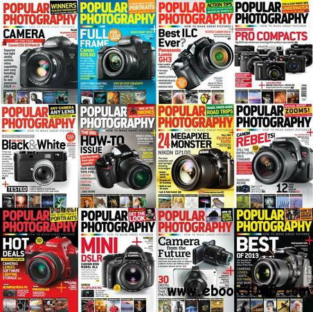 Popular Photography Magazine 2013 Full Collection free download
