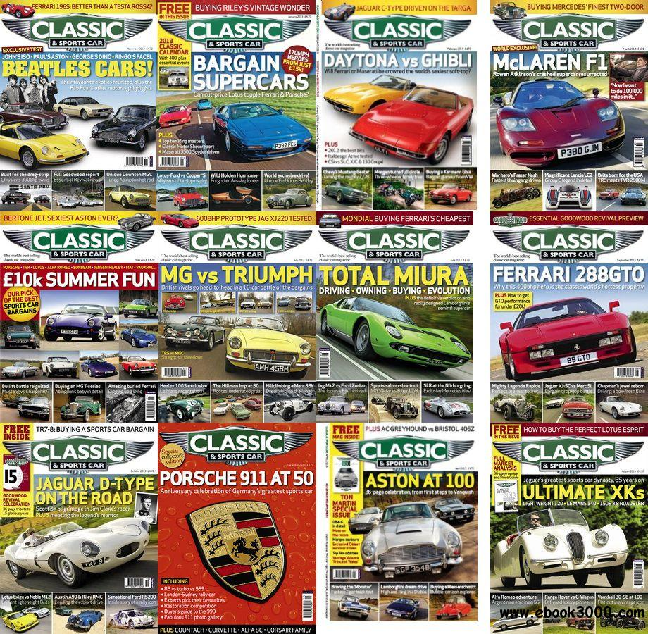 Classic & Sports Car - Full Year Collection 2013 free download