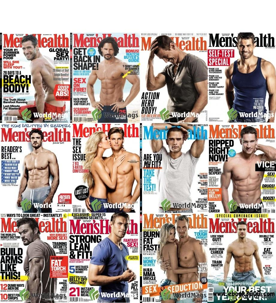 Men's Health South Africa 2013 Full Collection free download