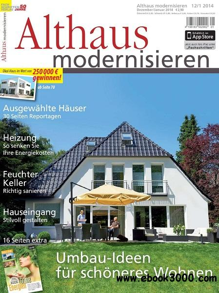 Althaus Modernisieren - Dezember 2013/Januar 2014 free download