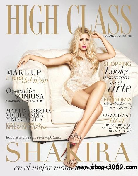 High Class - Noviembre 2012 free download