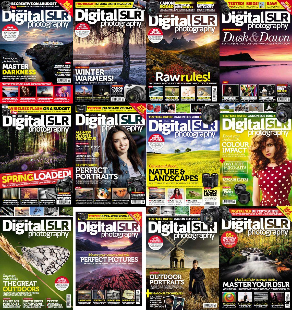 Digital SLR Photography - Full Year 2013 Issues Collection free download