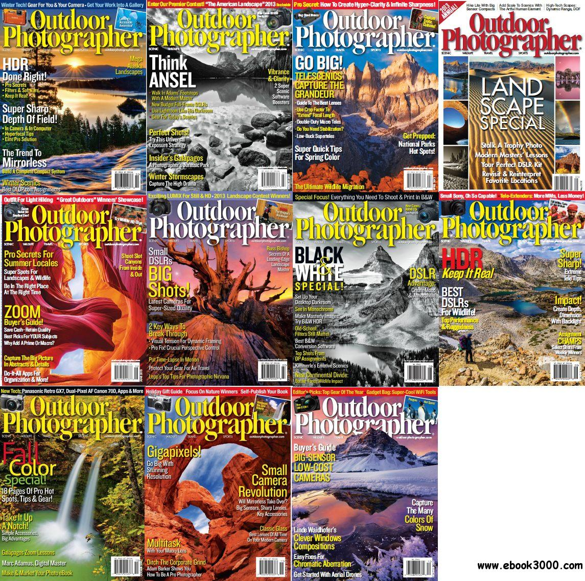 Outdoor Photographer - Full Year 2013 Issues Collection free download