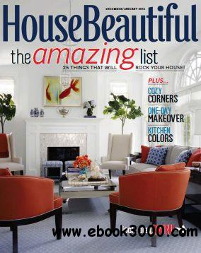 House Beautiful - December 2013 - January 2014 free download
