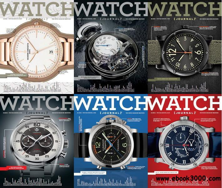 Watch Journal Magazine 2013 Full Collection free download