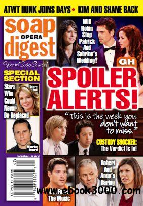 Soap Opera Digest - 25 November 2013 free download