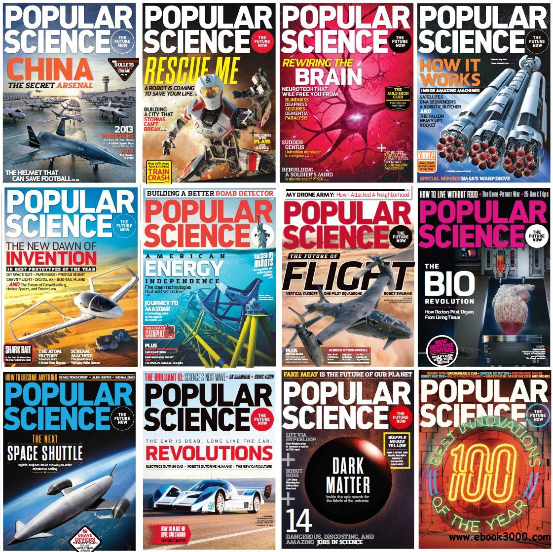 Popular Science USA - Full Year 2013 Issues Collection free download