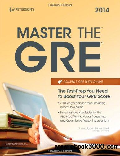 Master the GRE 2014 free download