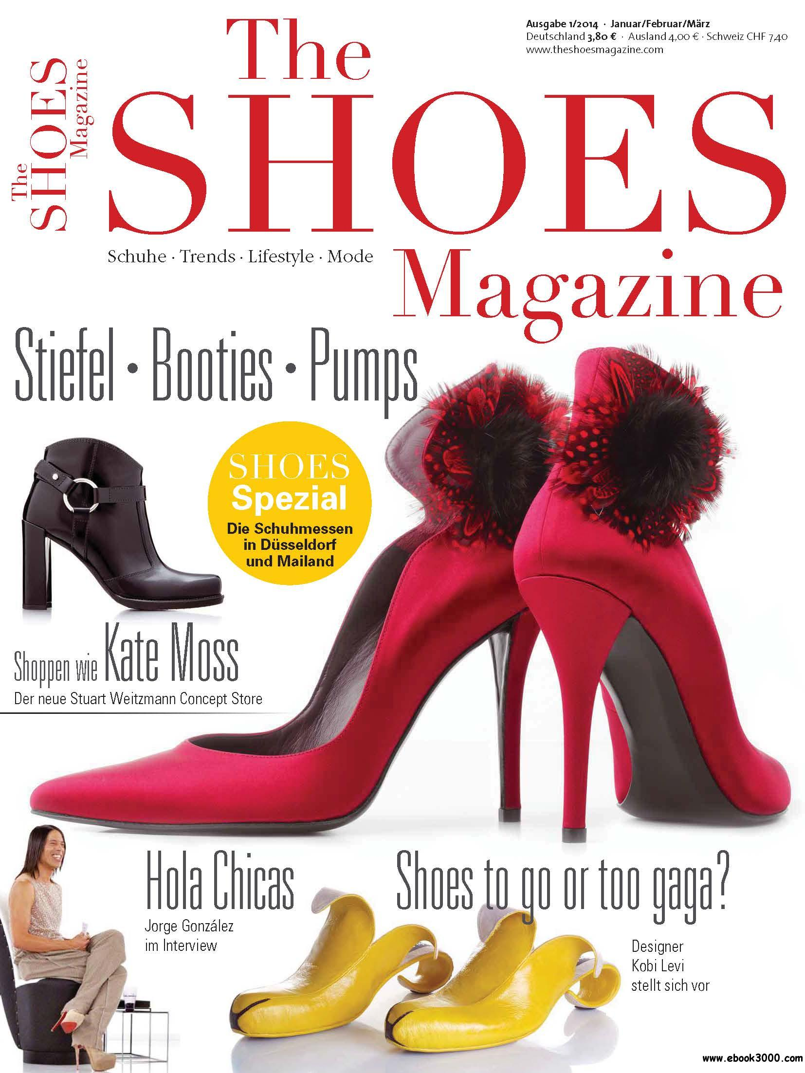 The Shoes Magazine - Magazin fur Schuhmode Januar/Februar/Marz 01/2014 free download