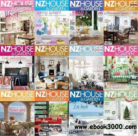 NZ House & Garden Magazine 2013 Full Collection free download