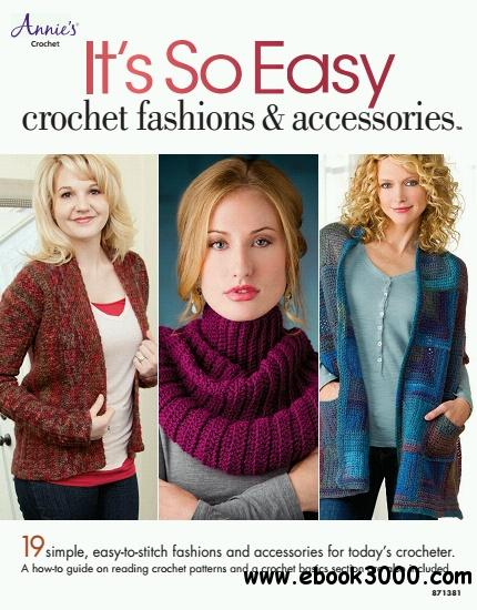 It's So Easy: Crochet Fashions & Accessories free download