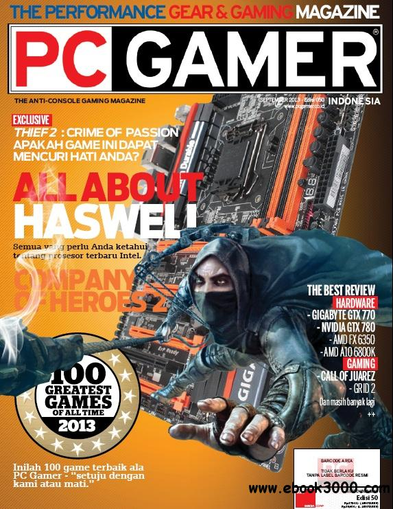 PC Gamer Indonesia - September 2013 free download