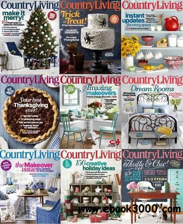 Country Living (USA) Magazine 2013 Full Collection free download