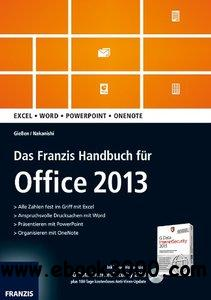 Das Franzis Handbuch fur Office 2013 free download