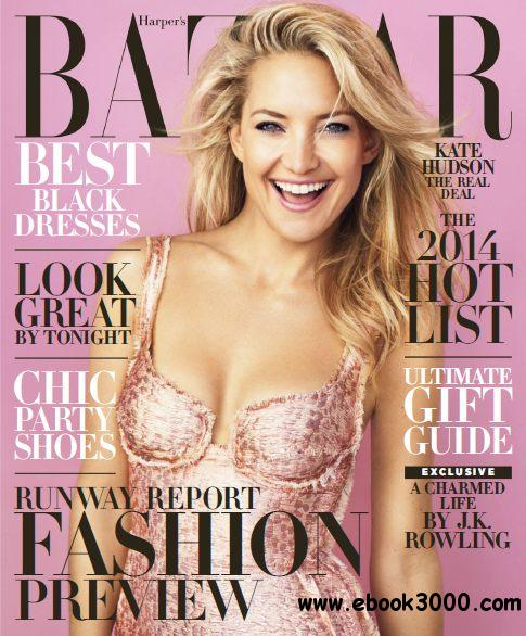 Harper's Bazaar USA - December 2013/January 2014 free download
