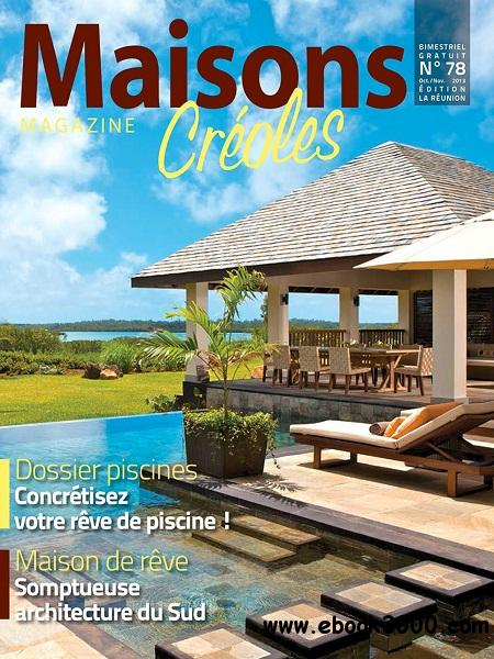 Maisons Creoles - Octobre/Novembre 2013 free download