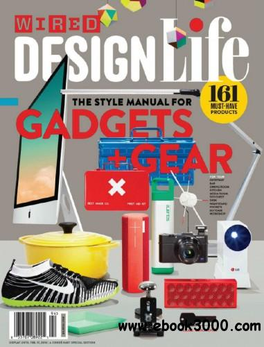 Wired USA - February 2014 Design Life Special Edition free download
