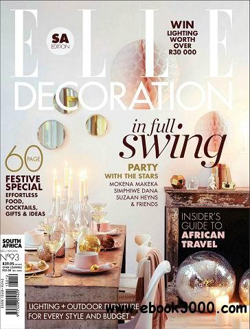 ELLE Decoration (South Africa) - December/January 2014 free download