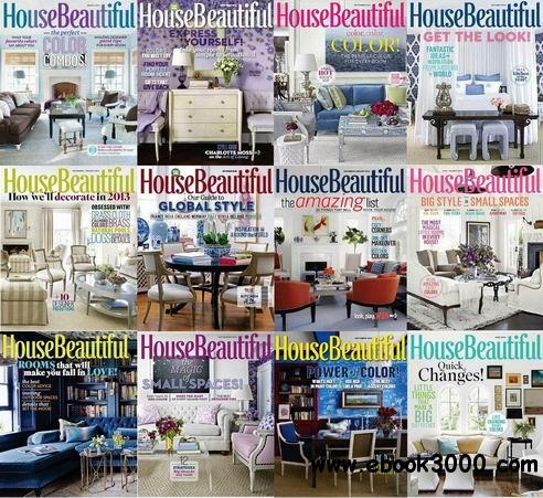 House Beautiful Magazine 2013 Full Collection free download