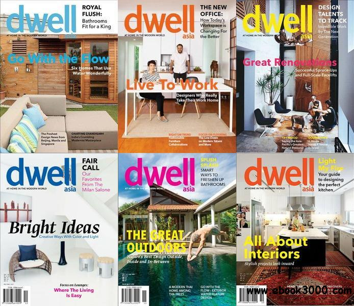 Dwell Asia Magazine 2013 Full Collection free download