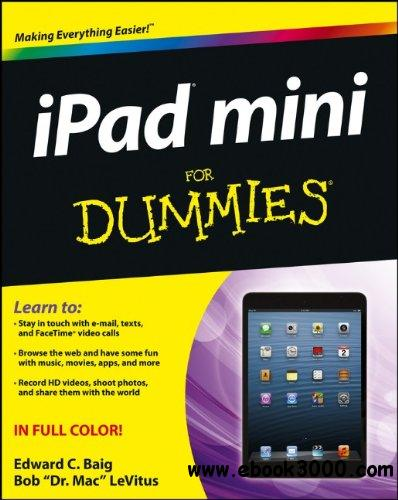 iPad Mini For Dummies free download