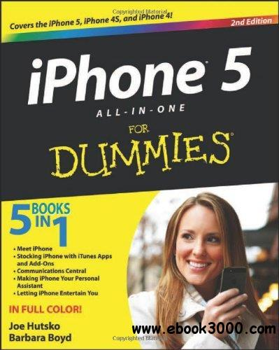 IPhone 5 All-in-One For Dummies, 2nd edition free download