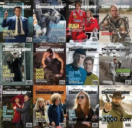 American Cinematographer Magazine 2013 Full Collection free download