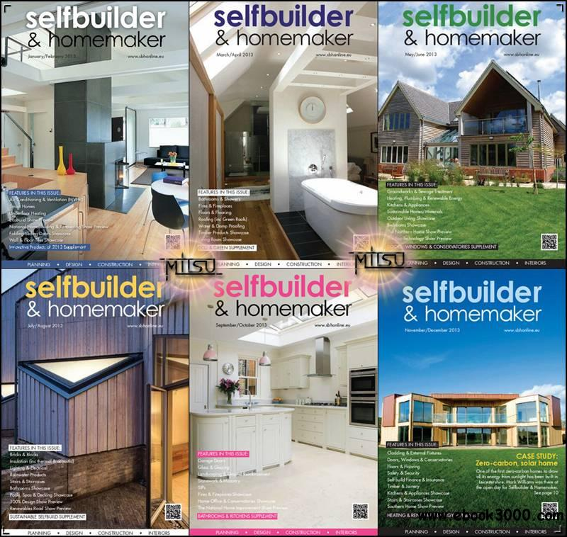 Selfbuilder & Homemaker - Full Year 2013 Issues Collection free download