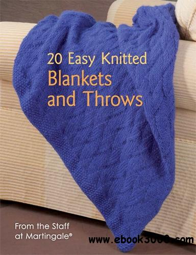 20 Easy Knitted Blankets and Throws free download