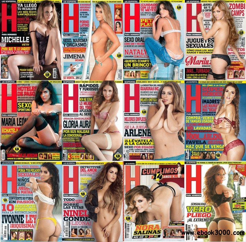 H para Hombres Mexico - Full Year 2013 Issues Collection HQ PDF free download