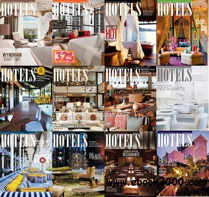 Hotels Magazine 2012-2013 Full Collection free download