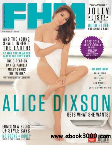 FHM Philippines - December 2013 free download