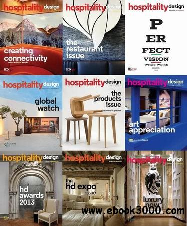 Hospitality Design Magazine 2013 Full Collection free download
