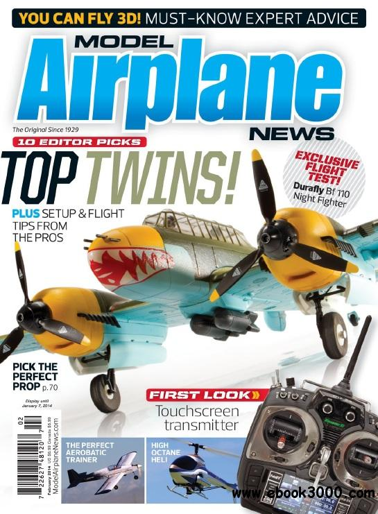 Model Airplane News - February 2014 free download