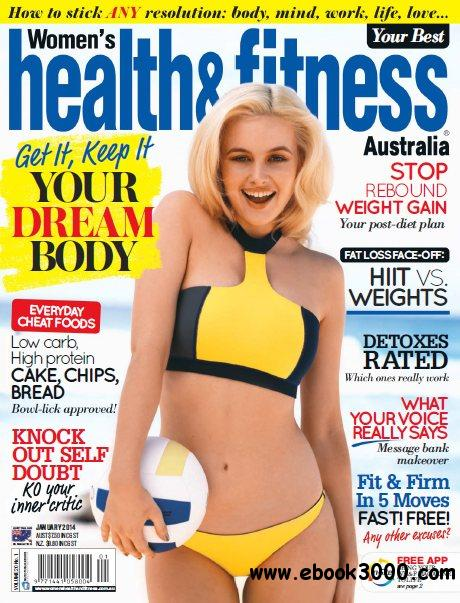 Women's Health and Fitness Australia - January 2014 free download