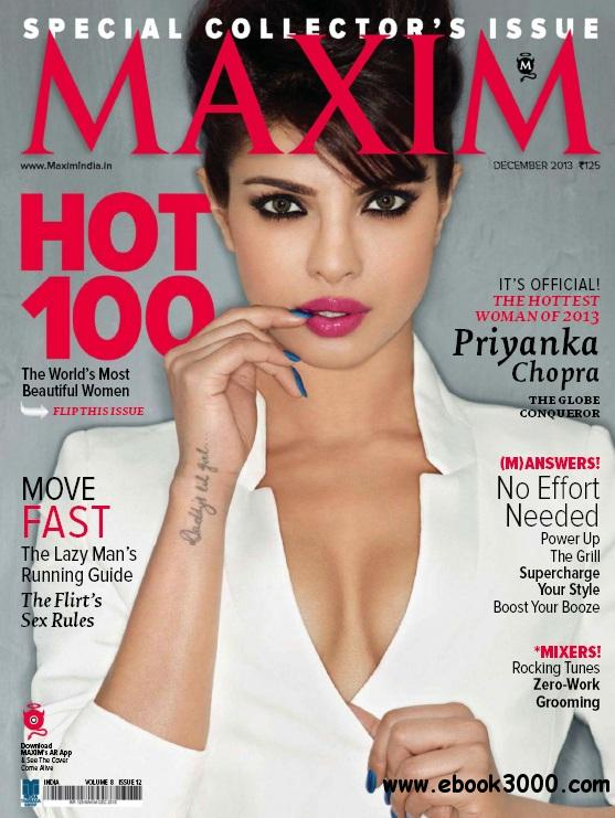 Maxim India - December 2013 free download