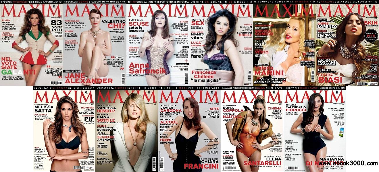 Maxim Italia - Full Year 2013 Collection free download