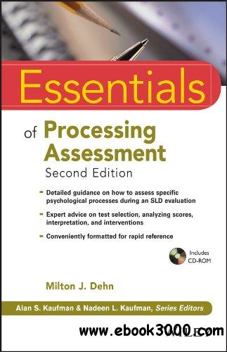 Essentials of Processing Assessment (Essentials of Psychological Assessment) free download