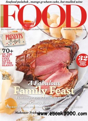 Food Philippines - December 2013 January 2014 free download