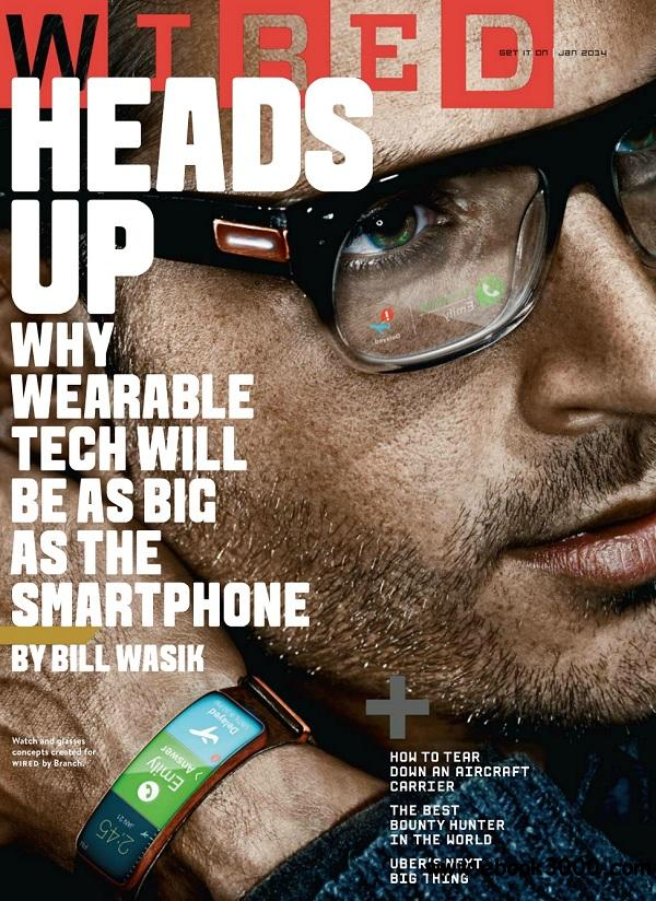 Wired USA - January 2014 free download