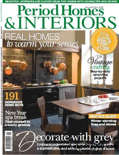 Period Homes & Interiors Magazine January 2014 download dree