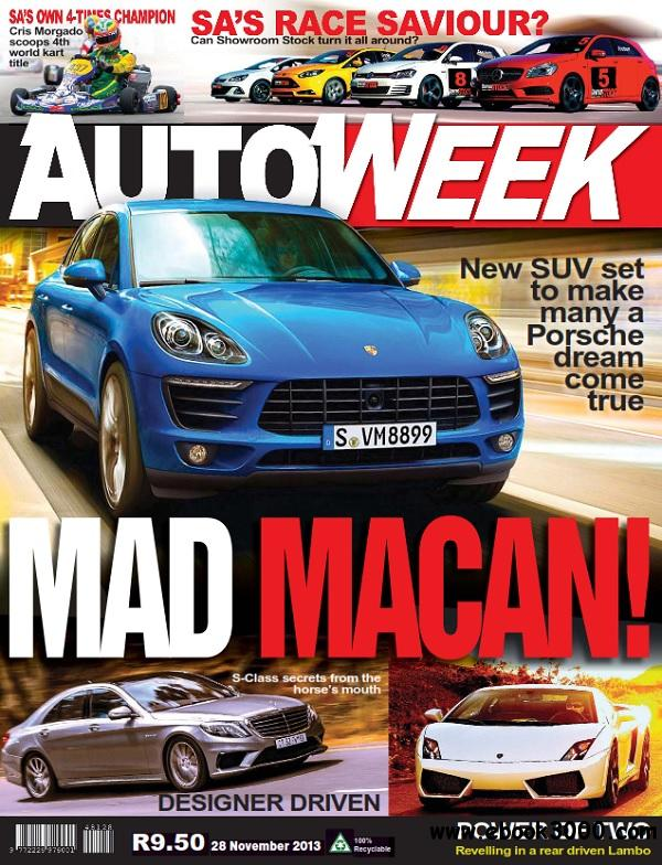 Autoweek - 28 November 2013 / South Africa free download