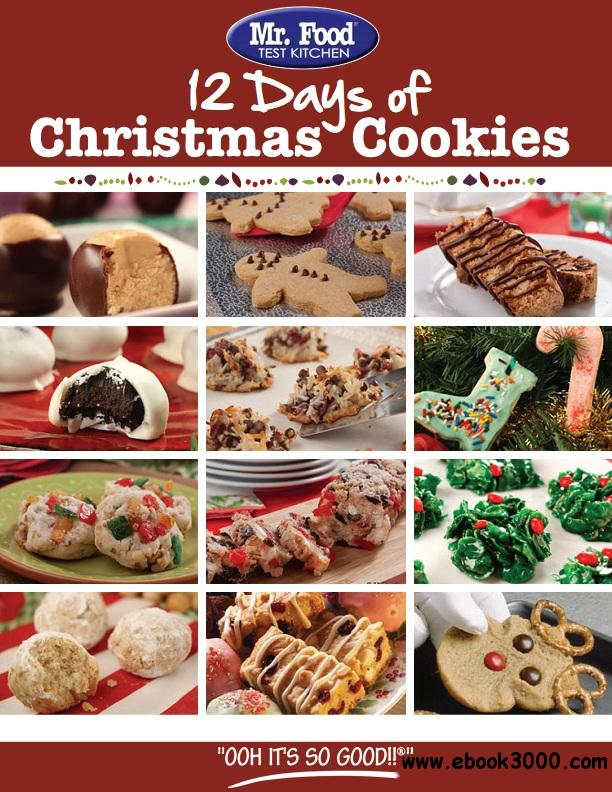 12 Days of Christmas Cookies free download