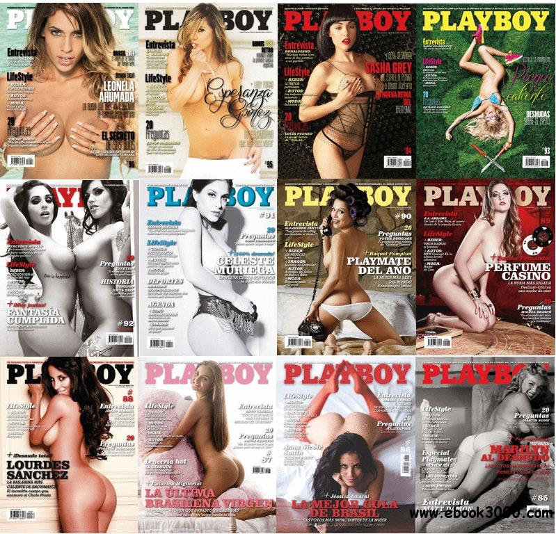 Playboy Argentina - Full Year 2013 Issue Collection free download